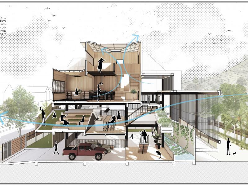 Landarch 2-1-800x600 Above Stilts House