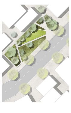 Landarch 3 How to draw trees on Landscape Plan Rendering in Photoshop