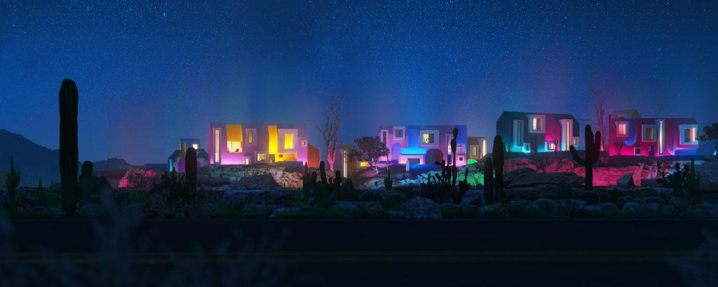 Landarch CamAll_view0_night_-1024x410 Sonora Art Village