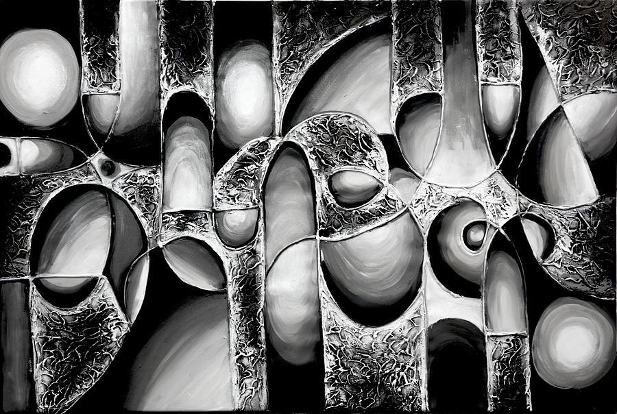 Landarch best-art-choice-award-original-abstract-oil-painting-modern-white-black-contemporary-home-gallery-emma-lambert Digital Fabrication