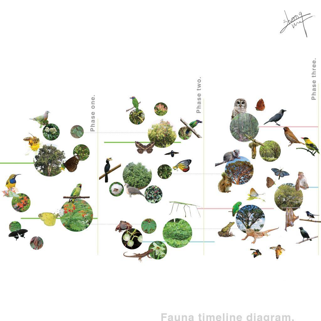 Landarch fauna-timeline-1024x1024 Campus Green Metabolism