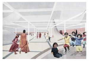Landarch -крыша-1-300x207 Reconfiguring Government School in India